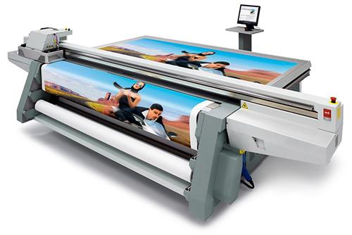 Oce Arizona Flatbed UV Printer