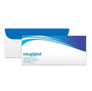 Custom logo envelopes